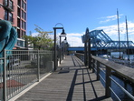 Harbourside walkway